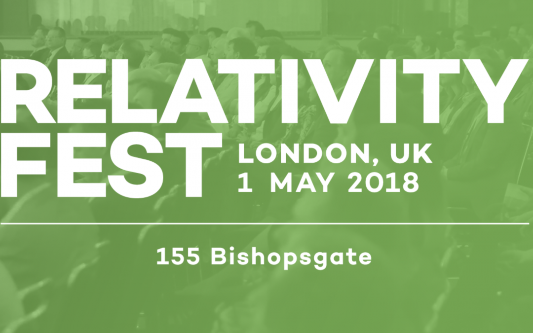 Heureka at RelativityFest London