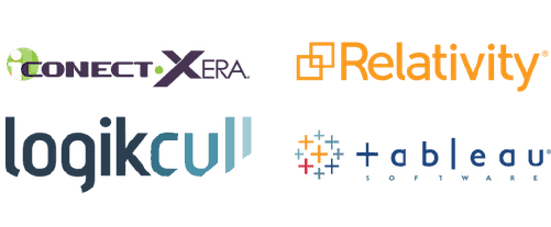 Heureka easily exports data to e-discovery review platforms such as relativity, logocull